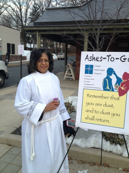 Christ Church - Ashes to Go - 03-05-14