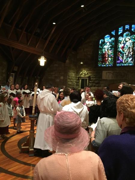 Baptism on Easter